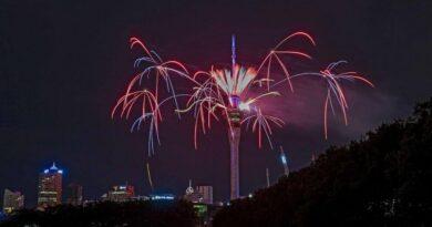 New year celebrations
