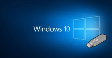 Windows 10 from usb