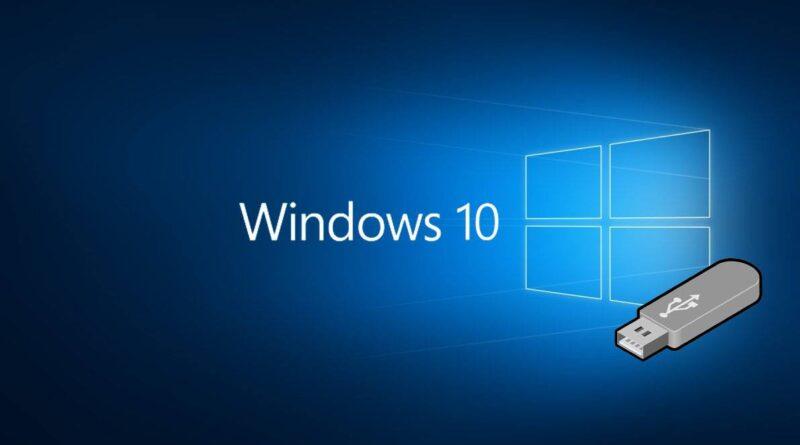 Windows 10 from usb